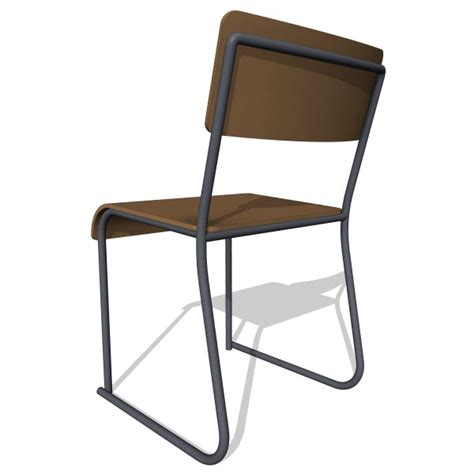 gus modern church chair 10238 2 00 revit families