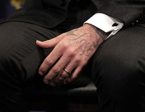 tattoo beckham love david beckham tattoos designs