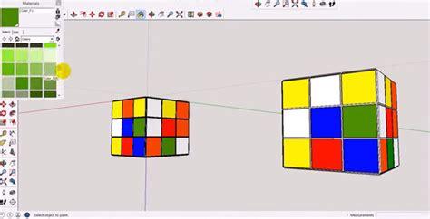 tutorial gambar rubik 3d tutorial sketchup video google sketchup sketchup video