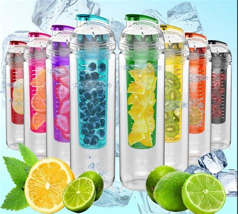 Tritan Plastik 2015 new high quality tritan plastic sports water bottle with fruit infuser bpa free drinkware