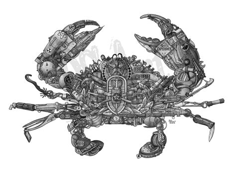 eod crab ds art