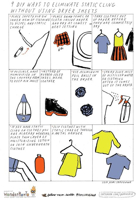 9 diy ways to eliminate static cling without using dryer