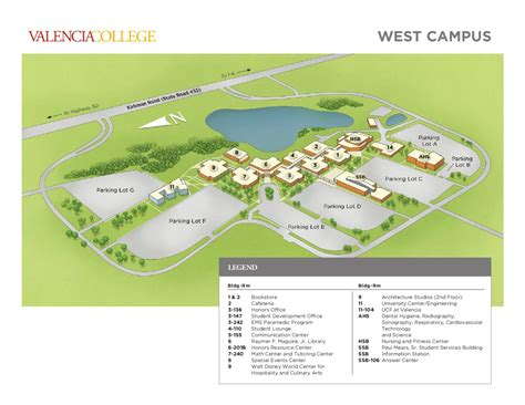 Dental Office Floor Plans by Valencia College Campus Map West By Valencia College Issuu