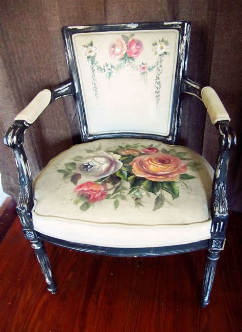 Painted Upholstery by Painted Upholstery Decayed Elegance New Canvas What S In