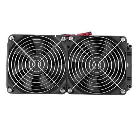 shop fans water cooled aluminum 240mm water cooled row heat exchanger