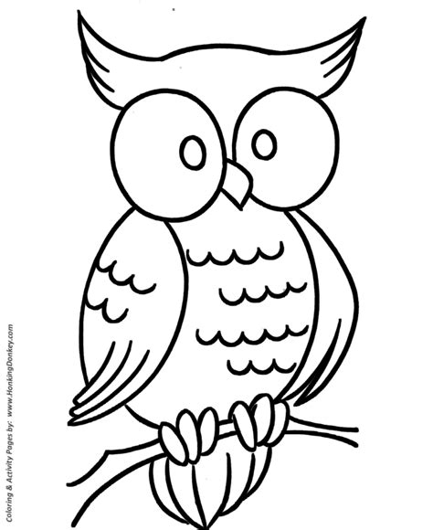 pre k coloring pages free printable wise owl pre k