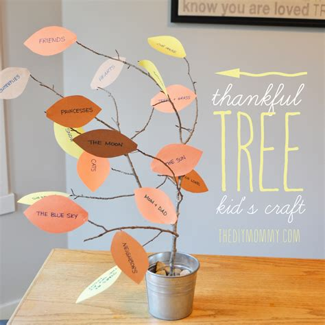 thankful tree craft for thankful tree craft for images