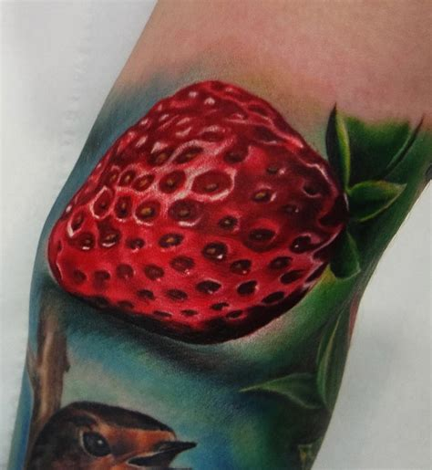 strawberry tattoo best tattoo design ideas