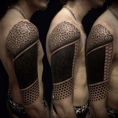 upper arm half sleeve tattoos for men 100 topmost arm tattoos for guys and