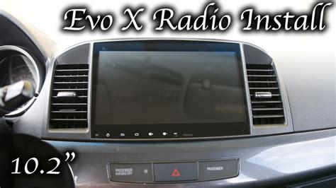 evo x touchscreen stereo wiring diagram evo sportster