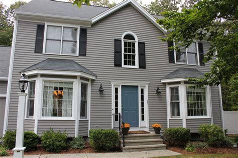 new paint exterior siding is benjamin graystone