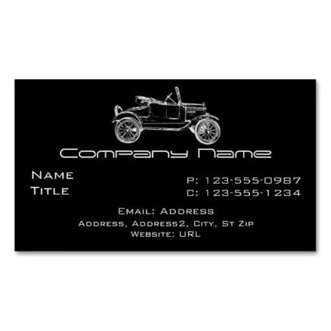 Ford Business Card Template by Paper Ford Models Auto Detailing And Auto Sales