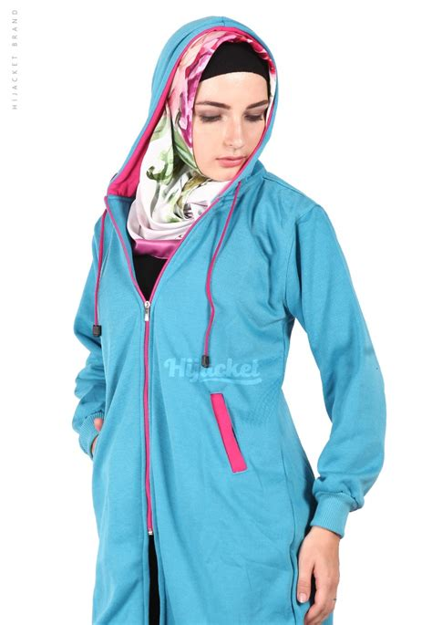 Hijaber Pink jaket hijaber basic turkish pink hijacket hj19 jaket