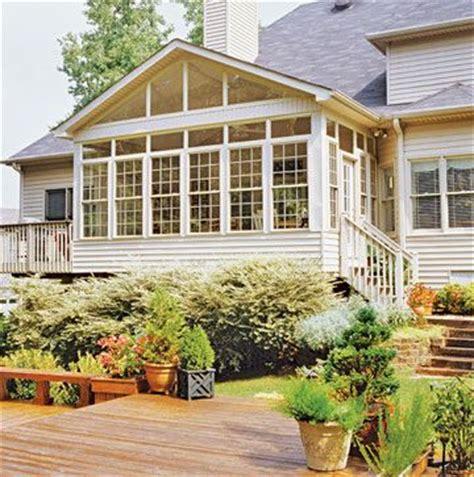 sunroom gutters sunrooms ideas seamless exterior additions rachael edwards