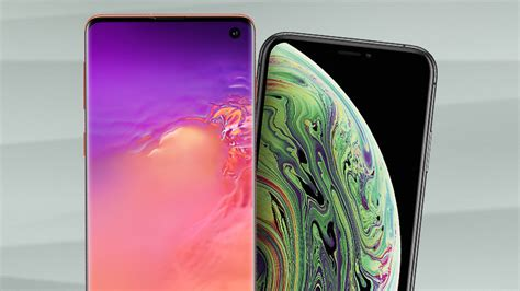 flagship fight samsung galaxy s10 s10 vs iphone xs xs max news opinion pcmag