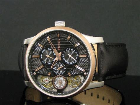 Fossil Me1099 Original jam tangan fossil me1099 twist black multifunction