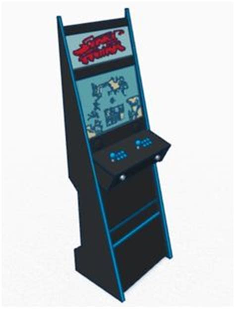 Slim Mame Cabinet Plans by Slim Mame Arcade Cabinet Cave Cabinets