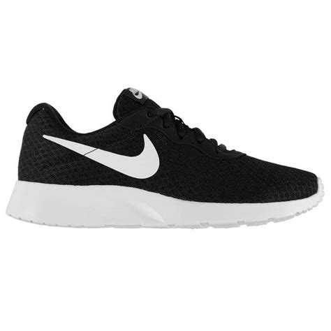 black and white pattern nike trainers nike nike tanjun trainers ladies ladies trainers