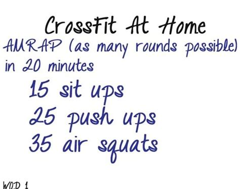 home crossfit workouts 28 images 25 best ideas about