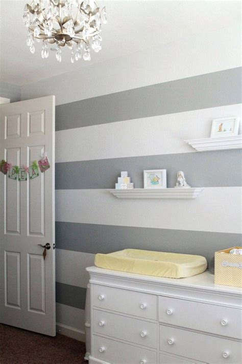 grey wallpaper for nursery gray and white striped wallpaper bedroom design