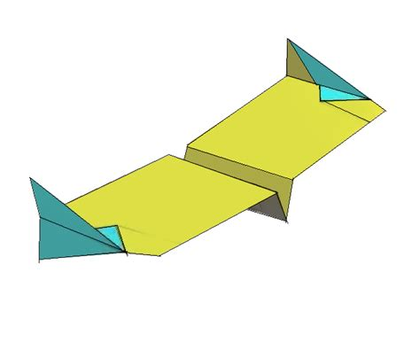 Flying Paper Airplanes Easy Make - simple paper airplane flying wing