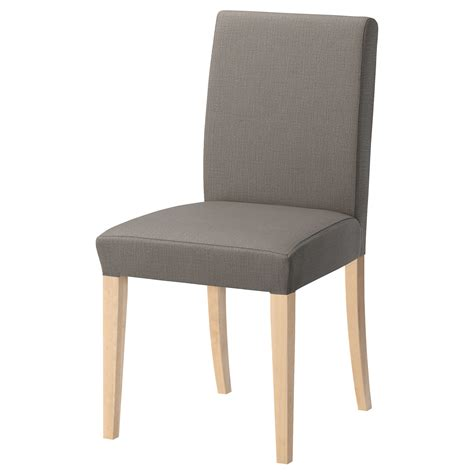 Henriksdal Chair by Chairs Upholstered Foldable Dining Chairs