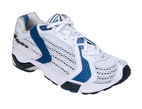 spira athletic shoes spira volare 3 white blue womens running shoes