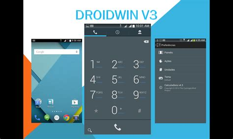 themes for rooted android lollipop droidwin v3 holo blue lollipop theme pre root booster