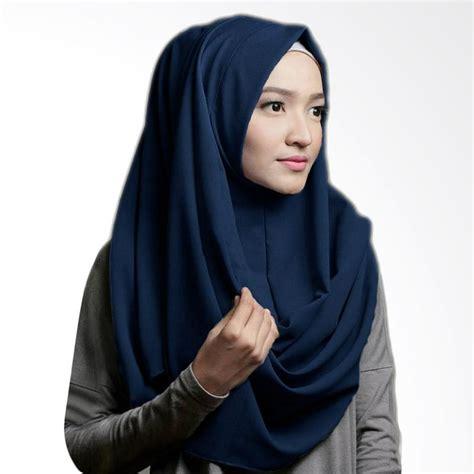 Sabrina Instan Pastan Oshi Jilbab Instan jual pashmina oshi sabrina jilbab instan biru navy harga kualitas terjamin blibli