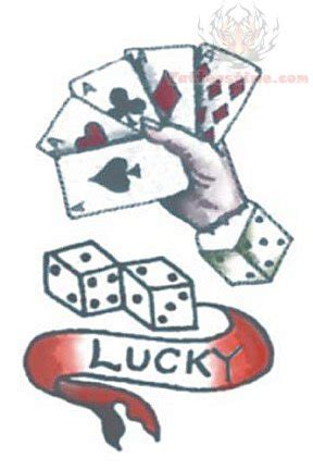 lucky dice tattoo lucky dice pattern