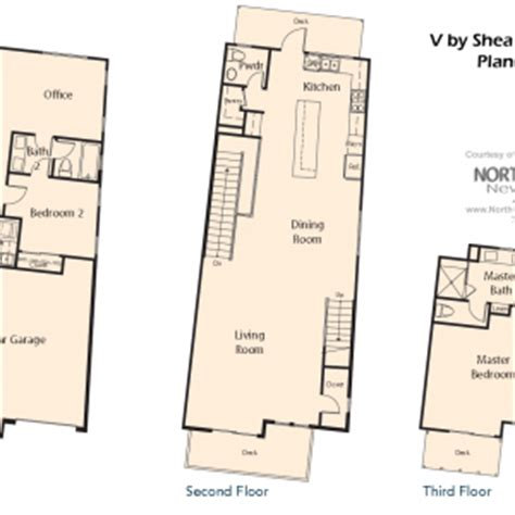 v by shea homes in leucadia floor plan 1 north county v by shea homes in leucadia floor plan 4 north county