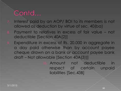 section 94 7 of income tax act income tax ppt revised