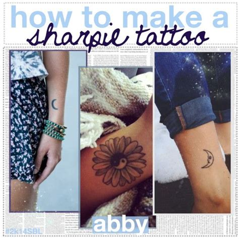 how to make a temporary tattoo with sharpie how to make a sharpie makeup and hair