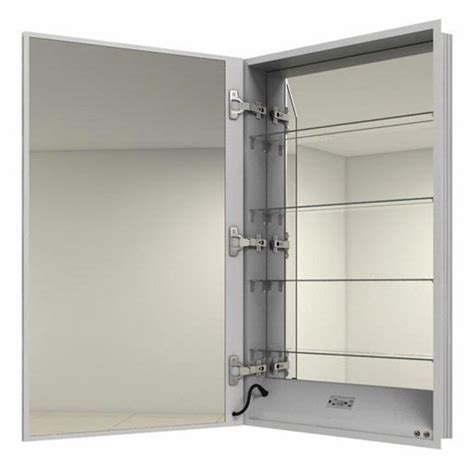 electric bathroom cabinet electric mirror ascension 19 25 quot x 40 quot medicine cabinet
