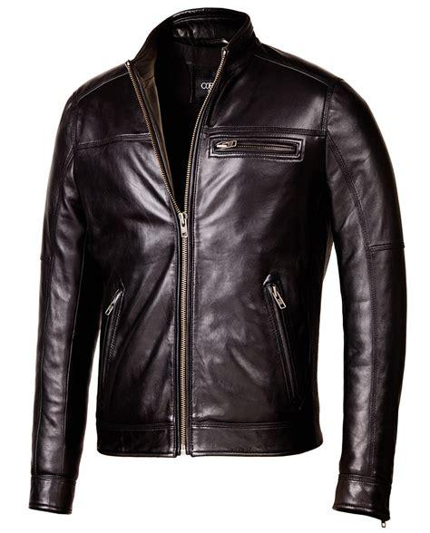 real leather biker designer biker black leather jacket mens genuine leather