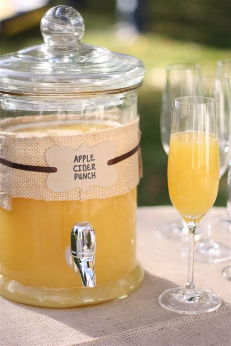apple cider punch for your fall wedding that wedding blog
