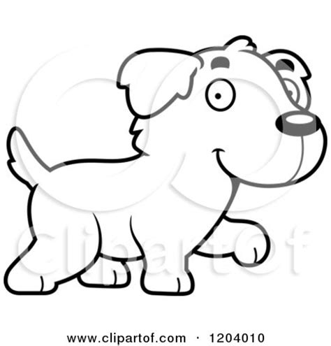 Cartoon of a Cute Golden Retriever Puppy with Dog Poop ... Free Clipart Of Siamese Cats