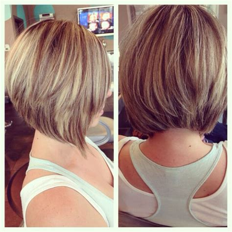 med length bob graduated layers graduated bob with layers hairs pinterest graduated