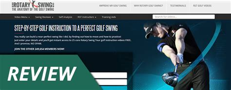rotary golf swing review review rotaryswing com does this system work