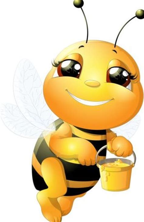 Bumblebee Lovely lovely bee set vectors 22 vector animal vector
