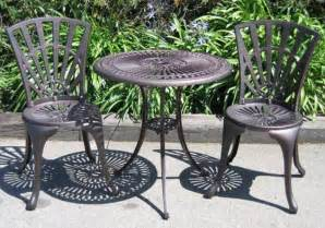 Cast Iron Patio Set Table Chairs Garden Furniture Cast Iron Outdoor Furniture Landscaping Gardening Ideas