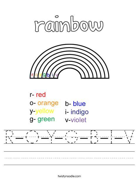 r is for rainbow worksheet twisty noodle rainbow worksheets photos roostanama
