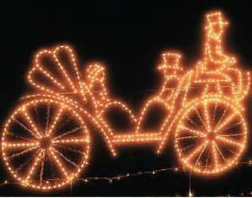 animated carriage outdoor christmas decorations