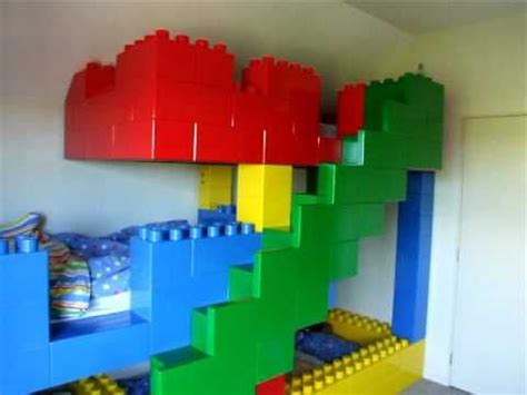 kids lego bedroom lego bed that sleeps three omg so cool my kids would