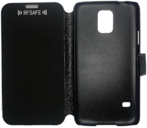Jzzs Flip Cover For Samsung S5 by Samsung Galaxy S5 Flip Cover Rf Radio Frequency Safe