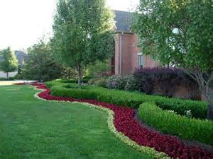 Landscape Ideas Using Boxwoods The Flowers Around The Boxwoods Annuals Summer