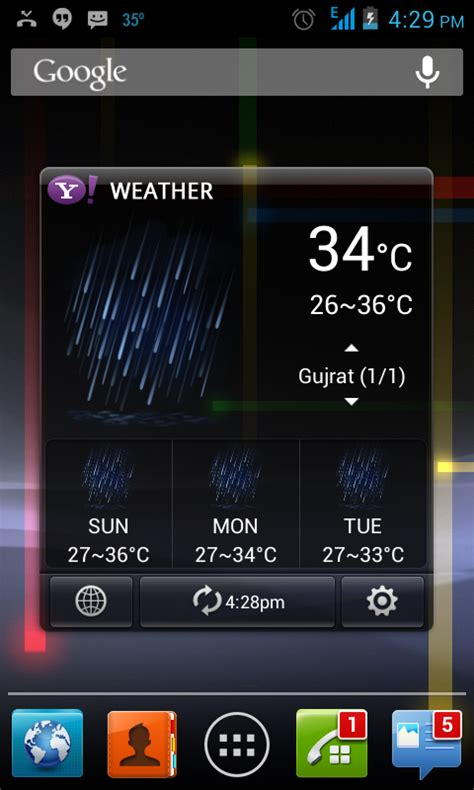weatherbug app for android phone ultimate list of android weather apps 2013 coming more