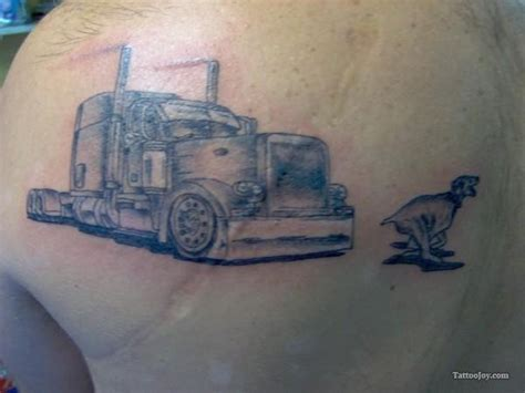 truck tattoo designs 60 best images about trucker on semi