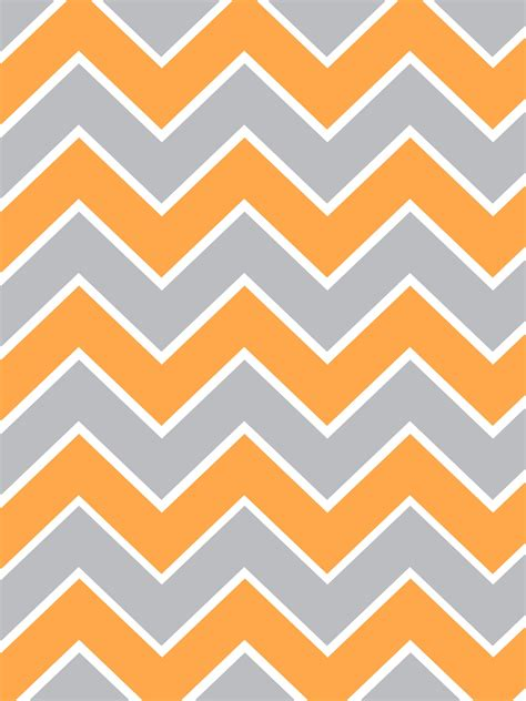 Orange Chevron make it create printables backgrounds wallpapers