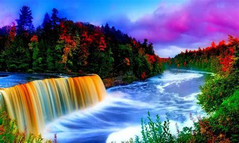 waterfall hd wallpaper apk   android